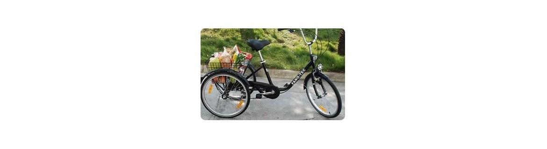 Tricycle adulte classique : tous nos modèles